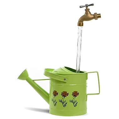 Universal Home & Garden SPL11 Fantasy Fountains Small Lime Watering Can Fountain
