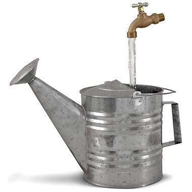 Universal Home & Garden B-8 Basic Galvanized Watering Can Fountain