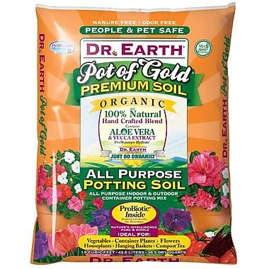 Dr. Earth 728 Natural and Organic Potting Soil Fertilizer, 1.5 cu. ft.