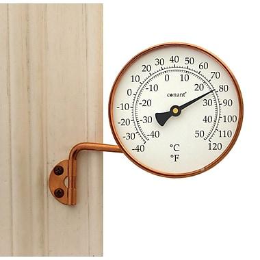 Conant Custom Brass T6LFC Dial Thermometer