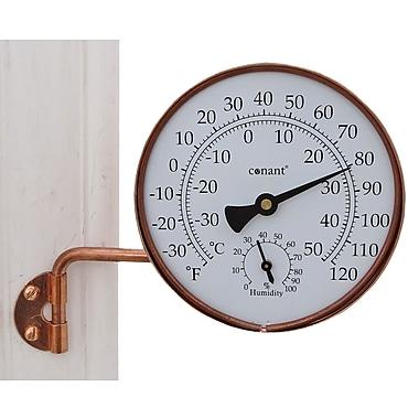 Conant Custom Brass TH6LFC Dial Thermometer