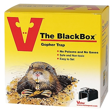 Victor 0625 The Black Box Gopher Trap