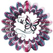 Iron Stop D120-10 Butterfly Designer Wind Spinner