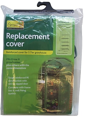 """""""World Source Partners R700SC 27″""""H x 19″""""W x 79″""""D Grow It Growhouse Replacement Cover"""""""