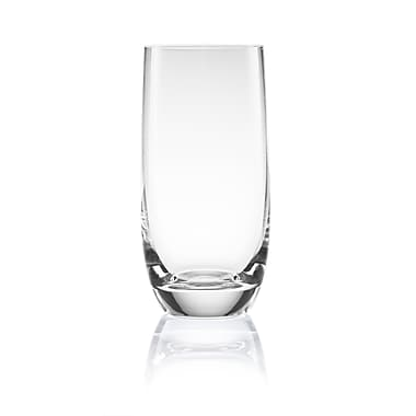 Roya Titanium Crystal Socialize 14.5oz Long Drink, Clear