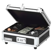Vaultz® Locking Cash Box, Black