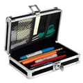 Vaultz® 2 1/4in. x 8 1/4in. Locking Pencil Box, Black