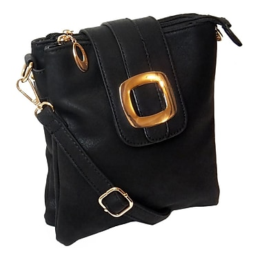 Lithyc Caitlin Small Crossbody, Black