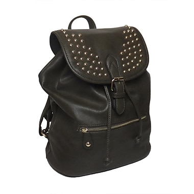 Lithyc Kai Vogue Studded Backpack, Olive