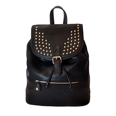 Lithyc Kai Vogue Studded Backpack, Black