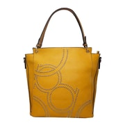 Lithyc Layla Shoulder Tote, Yellow