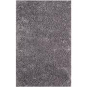 Safavieh Classic Ultra Shag Medium Rectangle Area Rug, 5' x 8', Gray