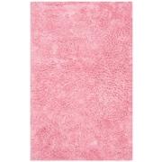 "Safavieh Classic Ultra Shag Large Rectangle Area Rug, 7' 6"" x 9' 6"", Pink"