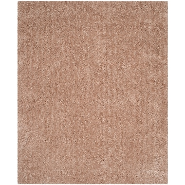 Safavieh Popcorn Shag Rectangle Area Rug, 8' x 10', Beige