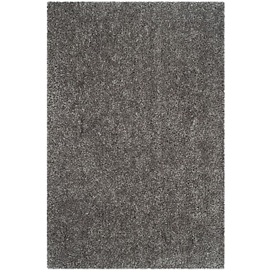 Safavieh Popcorn Shag Rectangle Area Rug, 4' x 6', Silver