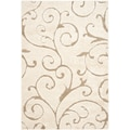 Safavieh Florida Sydney Shag Large Rectangle Area Rug, 9' 6in. x 13', Cream/Beige