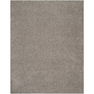 Safavieh Athens Shag Small Rectangle Area Rug, 4' x 6', Light Gray