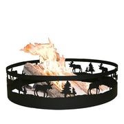 Cobraco Metal Moose Campfire Ring 9 X 36