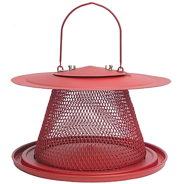 Perky-Pet Steel No/No Red Cardinal Bird Feeder
