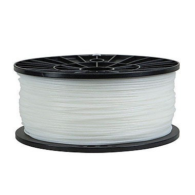 Monoprice® 3mm 1kg PLA Premium 3D Printer Filament Spool, White