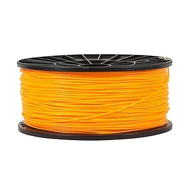 Monoprice® 1.75mm 1kg PLA Premium 3D Printer Filament Spool, Bright Orange