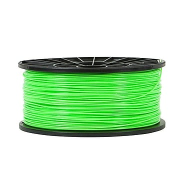 Monoprice® 3mm 1kg ABS Premium 3D Printer Filament Spool, Bright Green