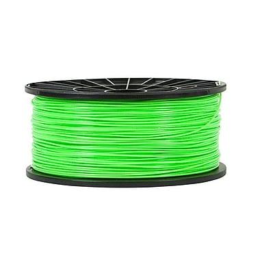 Monoprice® 3mm 1kg PLA Premium 3D Printer Filament Spool, Bright Green
