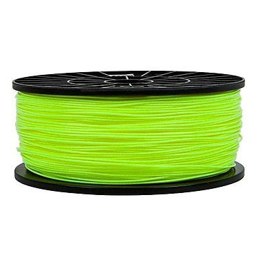Monoprice® 1.75mm 1kg ABS Premium 3D Printer Filament Spool, Fluorescent Yellow