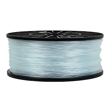 Monoprice® 1.75mm 1kg PLA Premium 3D Printer Filament Spool, Crystal Clear