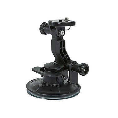 Monoprice® 110160 MHD Action Camera Suction Cup Mount