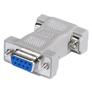 Monoprice® DB9 Female to Female Null Modem Adaptor, Gray
