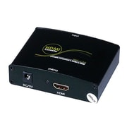 Monoprice® Component and S/PDIF Digital Coax/Optical Toslink Audio to HDMI Converter, Black