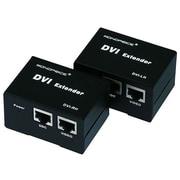 Monoprice® 50m DVI Extender Using Cat5e Cable, Black
