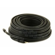 Monoprice® Premium 75' Gold Plated 3.5mm Stereo Male to Male 22AWG Cable, Black