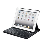 Monoprice® Keyboard Folio With Mechanical Keys For iPad 2/3/4, Black