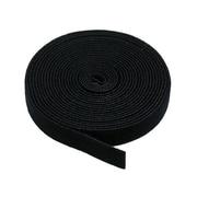"""Monoprice® 3/4"""" x 5 yds. Hook & Loop Fastening Tape, Black"""