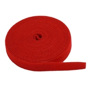 Monoprice® 3/4 x 5 yds. Hook & Loop Fastening Tape, Red