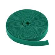 "Monoprice® 3/4"" x 5 yds. Hook & Loop Fastening Tape, Green"