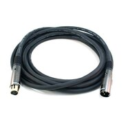 Monoprice® Premier Series 15' 16AWG XLR Male to Female Audio Cable, Black