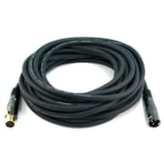 Monoprice® Premier Series 35' 16AWG XLR Male to Female Audio Cable, Black