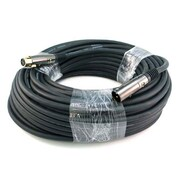 Monoprice® Premier Series 100' 16AWG XLR Male to Female Audio Cable, Black