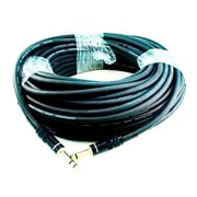 Monoprice® Premier Series 35' 16AWG 1/4 TRS Male to Male Audio Cable, Black