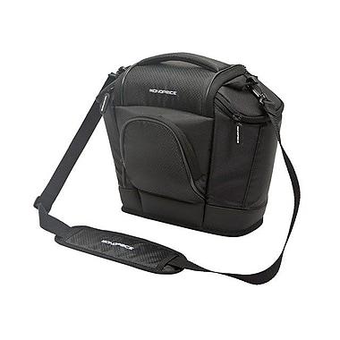 Monoprice® Large SLR and Accessories Ballistic Nylon Camera Bag, Black