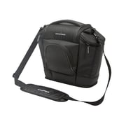 Monoprice® Large SLR and Accessories Ballistic Nylon Camera Bag, Black