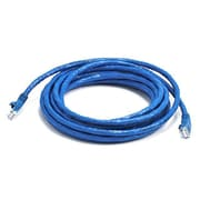 Monoprice® 14' 24AWG Cat5e UTP Ethernet Network Cable, Blue