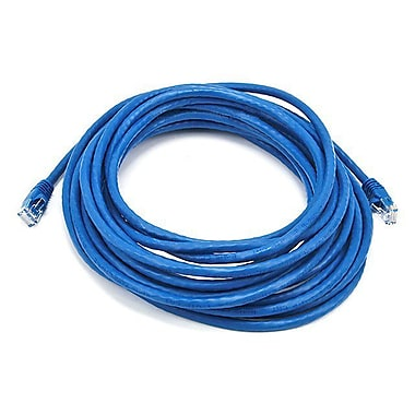 Monoprice® 25' 24AWG Cat5e UTP Ethernet Network Cable, Blue