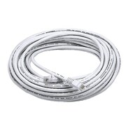 Monoprice® 50' 24AWG Cat5e UTP Ethernet Network Cable, White