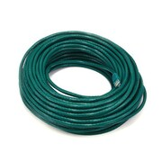 Monoprice® 100' 24AWG Cat5e UTP LC Male to Male Ethernet Network Cable, Green
