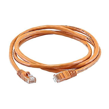Monoprice 103379 5' CAT-5e Ethernet Network Cable, Orange