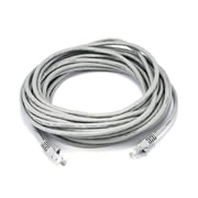 Monoprice® 30' 24AWG Cat5e UTP Ethernet Network Cable, Gray